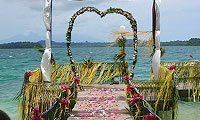 Ideal for honeymoons or a romantic holidays